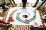 Octaafspel-binnen Springteamspel met voeten (190 x 126)